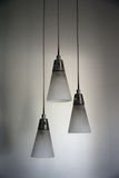 Hanging ceiling lamps royalty free stock images