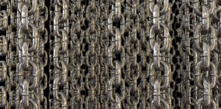 Hanging chains Royalty Free Stock Photos