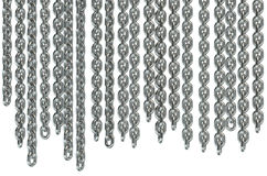 Hanging chains Stock Image