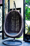 Hanging chair Royalty Free Stock Photography