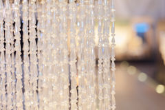 Hanging chandelier Stock Photography