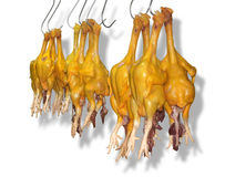 Hanging chicken Royalty Free Stock Image