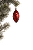 Hanging chrismas decoration Stock Image