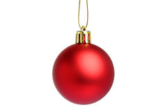 Hanging Christmas Bauble Royalty Free Stock Photos