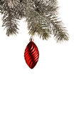 Hanging christmas decoration Royalty Free Stock Photos