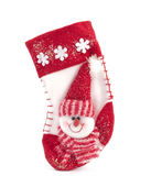 Hanging Christmas Stocking Royalty Free Stock Photography