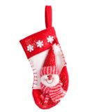 Hanging Christmas Stocking Royalty Free Stock Photos