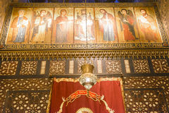 Hanging Church of Coptic Cairo, Egypt Royalty Free Stock Image