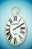 Hanging clock Royalty Free Stock Images