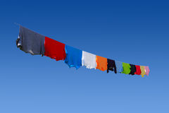 Hanging Clothes Stock Photography