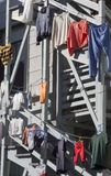 Hanging Clothes Stock Image
