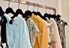 Clothing store Royalty Free Stock Images