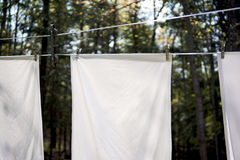 Hanging Clothes Makes a Difference Royalty Free Stock Photo