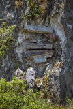 Hanging Coffins of Sagada, Philippines Stock Images