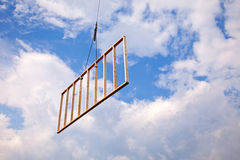 Hanging construction part Stock Image