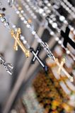 Hanging Crosses Royalty Free Stock Photography