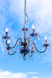 Hanging Crystal Chandelier Royalty Free Stock Image