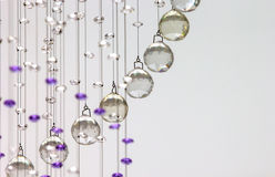 Hanging crystal Royalty Free Stock Images