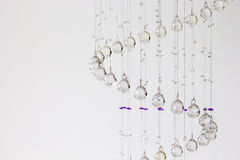 Hanging crystal Stock Images