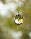 Hanging crystal royalty free stock photo