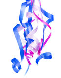 Hanging Curled Ribbons Royalty Free Stock Image