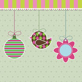 Hanging decorations Royalty Free Stock Images