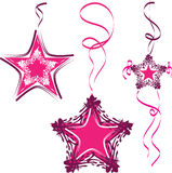 Hanging decorations Star Necklace Royalty Free Stock Photo