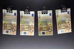 Hanging Euro Stock Photos