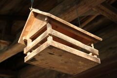 Hanging feeder Royalty Free Stock Image