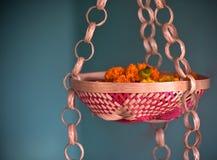 Hanging flower pots handicrafts object photograph stock photo
