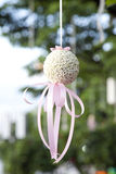 Hanging flowers for wedding Stock Images