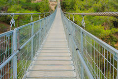 Hanging Foot Bridge Stock Image