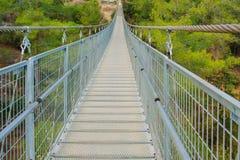 Hanging Foot Bridge Stock Image