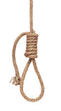 Hanging gallows rope Stock Photos