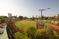 Hanging Gardens in Mumbai Stock Photo