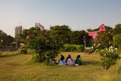 Hanging Gardens in Mumbai Stock Image