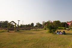 Hanging Gardens in Mumbai Royalty Free Stock Photography