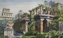 Free Hanging Gardens Of Babylon Stock Photo - 173979140