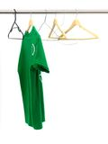 Hanging Garments Royalty Free Stock Photography