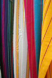 Hanging Hammocks at the Otavalo market Royalty Free Stock Image