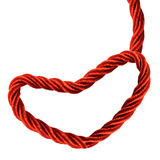 Hanging Heart Rope Royalty Free Stock Images