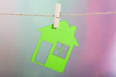 Hanging House Stock Images