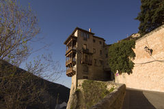 Hanging house in Cuenca, Spain Royalty Free Stock Photos