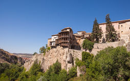 The Hanging houses of Cuenca Stock Image