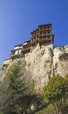 Hanging houses, Cuenca Royalty Free Stock Photos