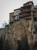 Hanging houses in Cuenca, Castilla la Mancha, Spain Royalty Free Stock Photo