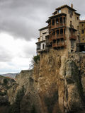 Hanging houses in Cuenca, Castilla la Mancha, Spain Stock Photography