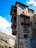 Hanging houses in Cuenca, Castilla la Mancha, Spain Stock Photo