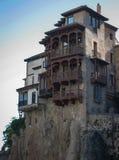 Hanging houses in Cuenca, Castilla la Mancha, Spain Royalty Free Stock Image