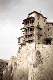 Hanging houses, Cuenca, Spain Royalty Free Stock Images